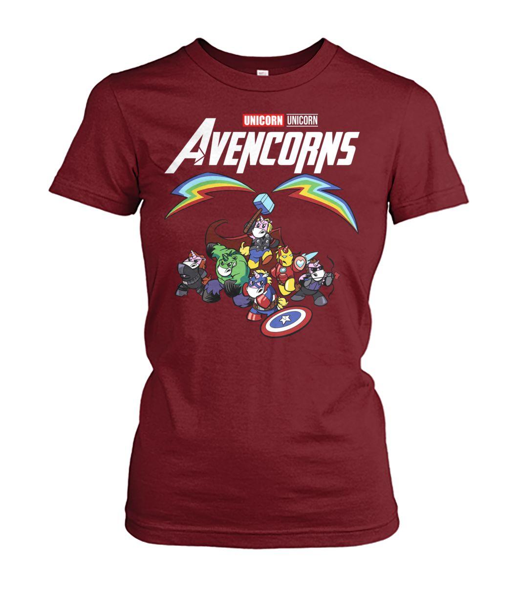 [Hot version] Marvel avengers endgame avencorns unicorn shirt