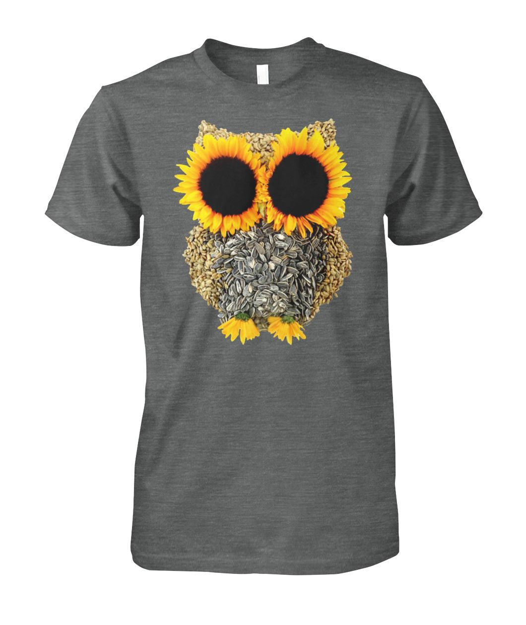 [Hot version] Owl sunflower shirt