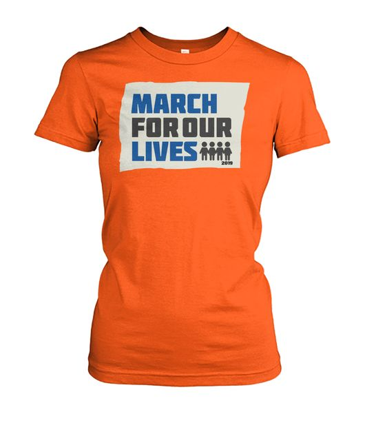 March For Our Lives Women's T shirt product design