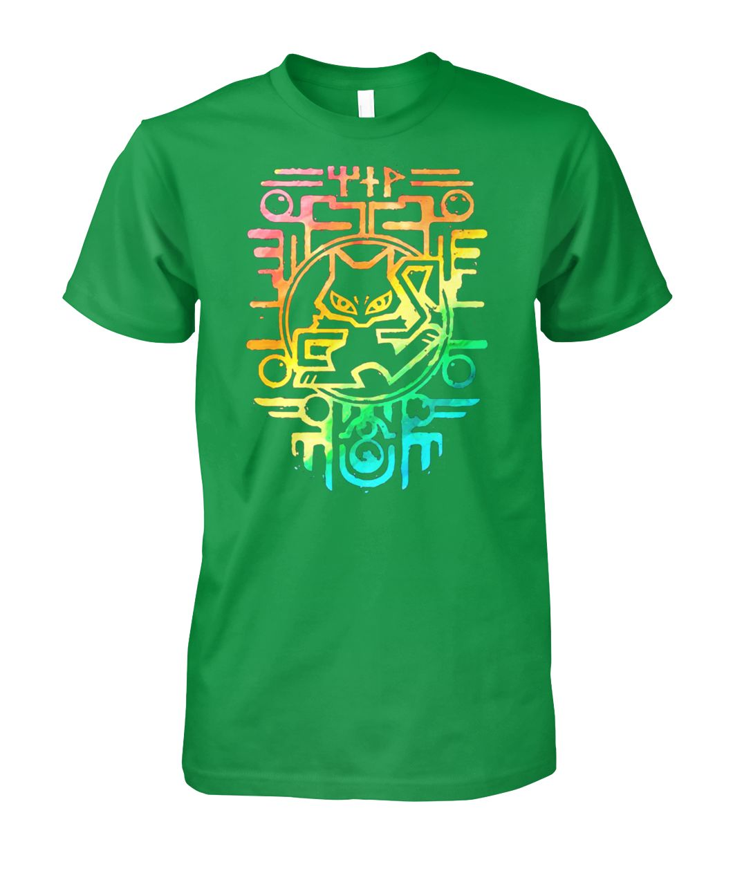 [Hot version] Rainbow chartres pokemon shirt