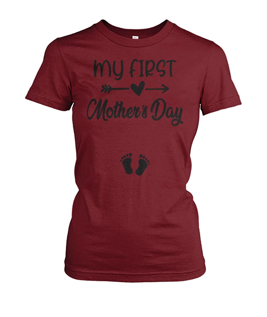 eeab33ab2a945 Where to buy: My first mother's day pregnancy announcement shirt