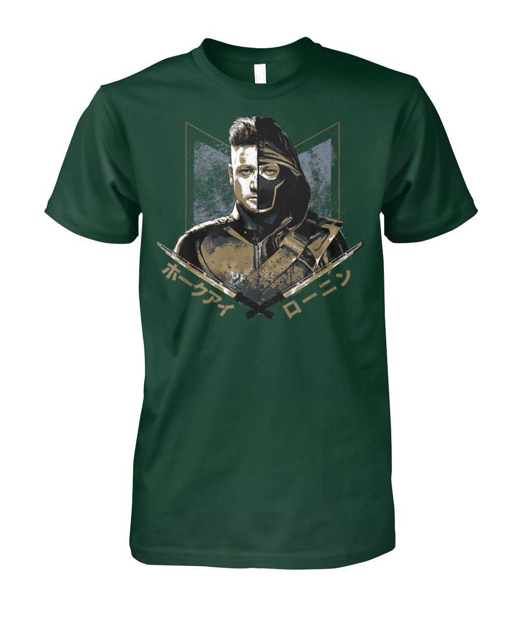[Hot version] Marvel avengers endgame ronin hawkeye shirt