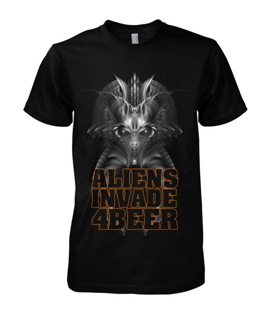 Aliens Invade For Beer