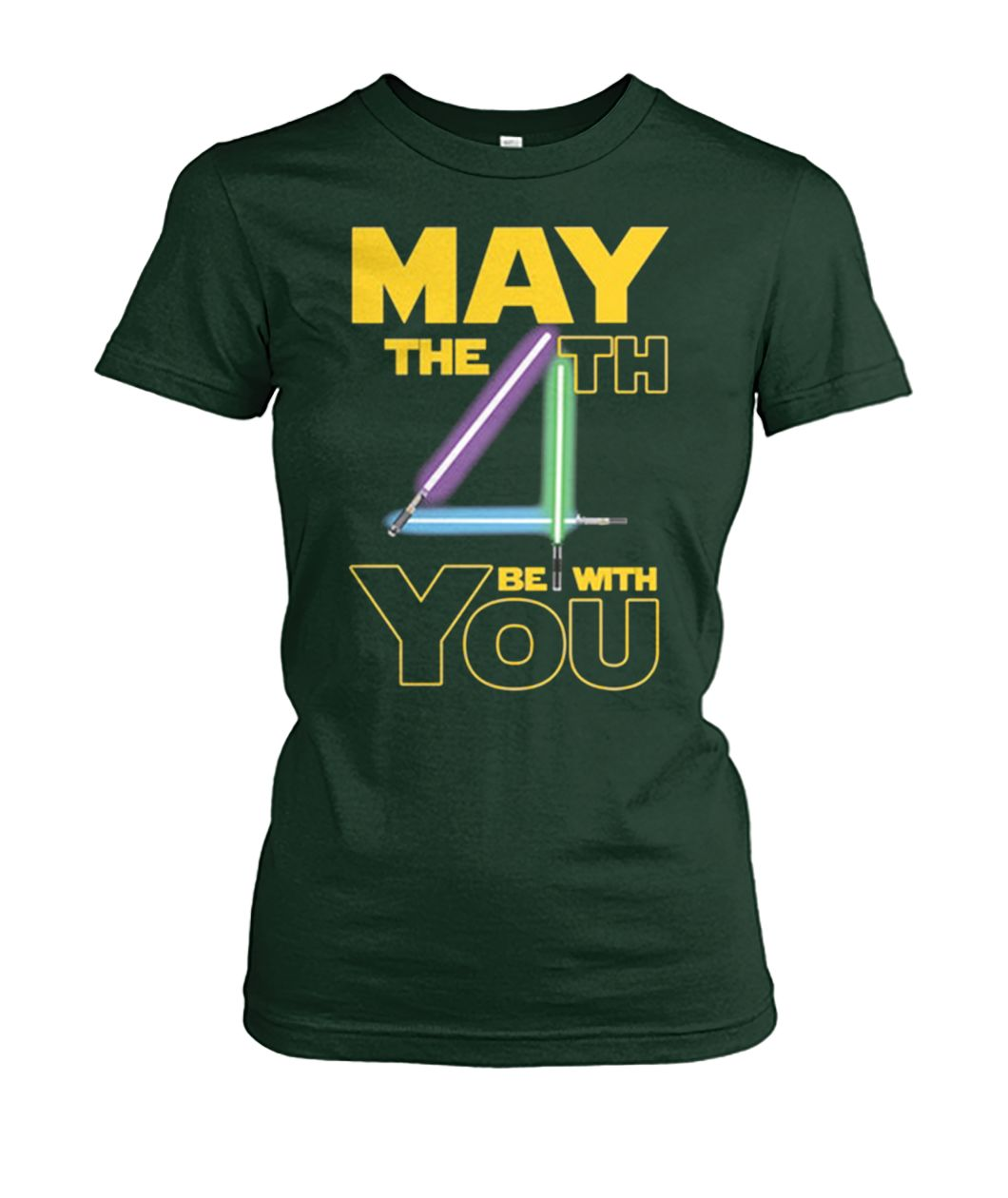[Hot version] Star wars may the 4th be with you shirt