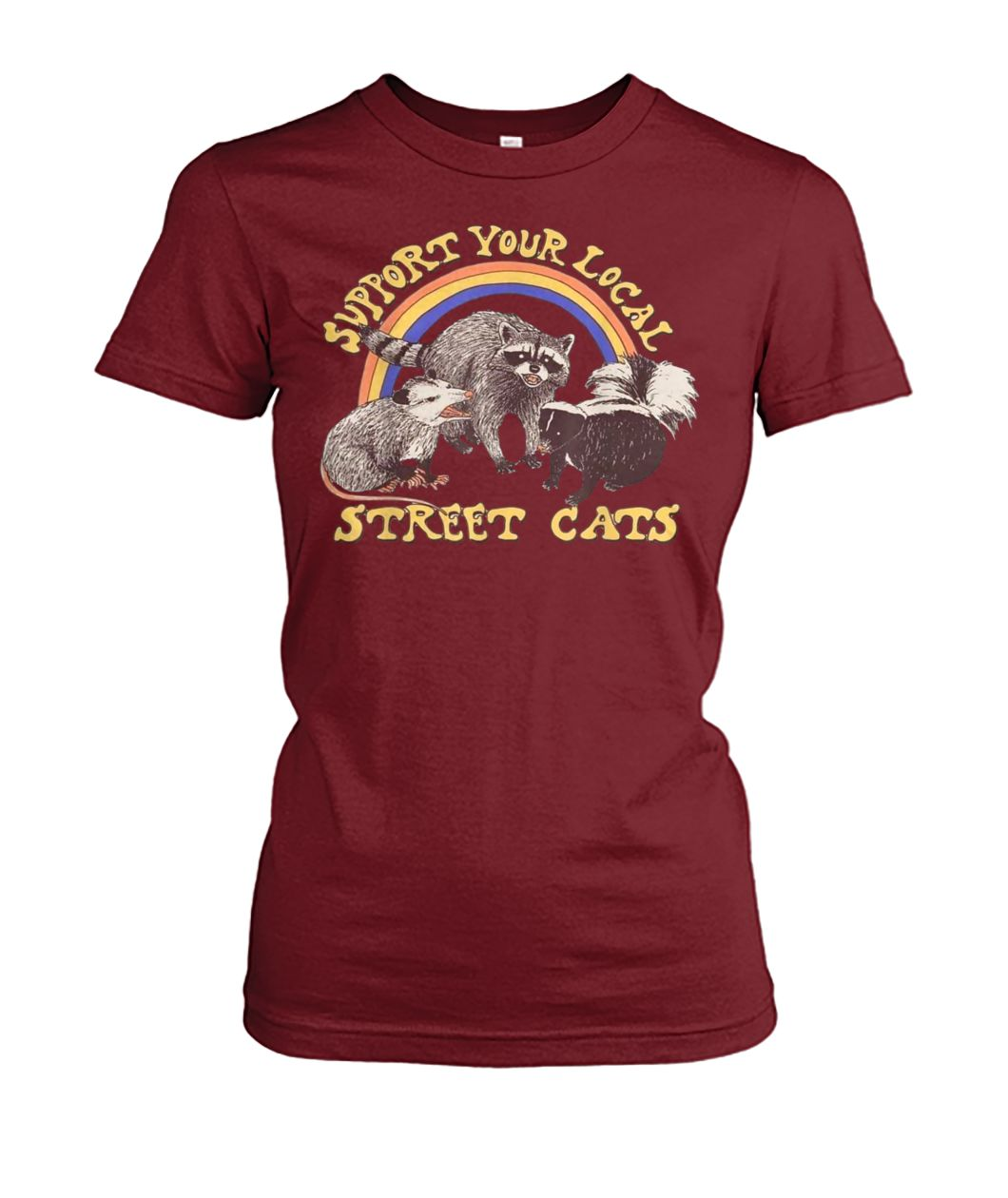 [Hot version] Support your local street cats shirt