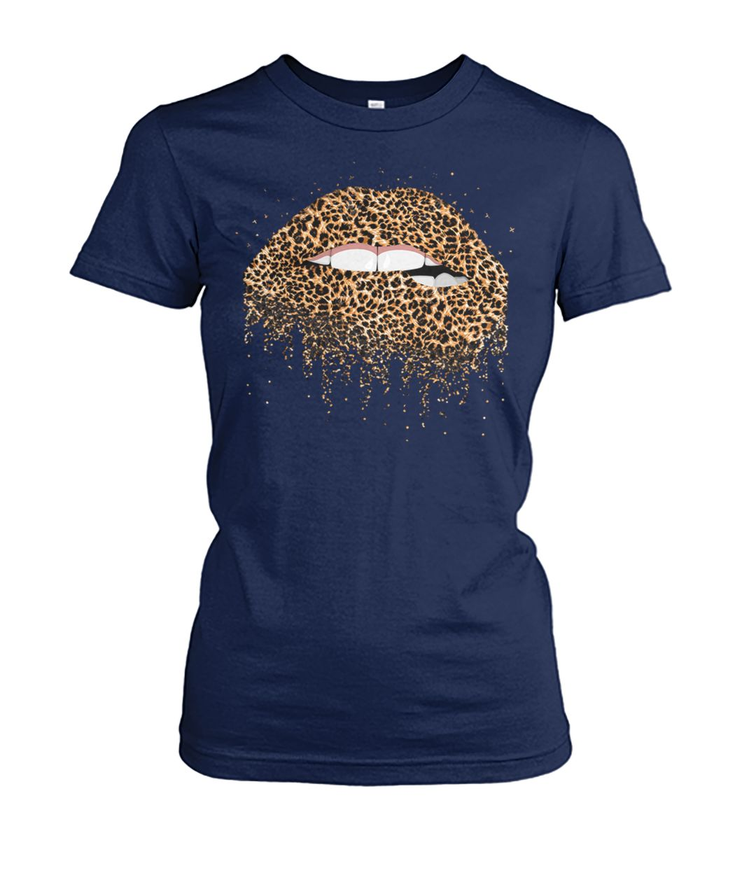 [Hot version] Sexy leopard lips shirt