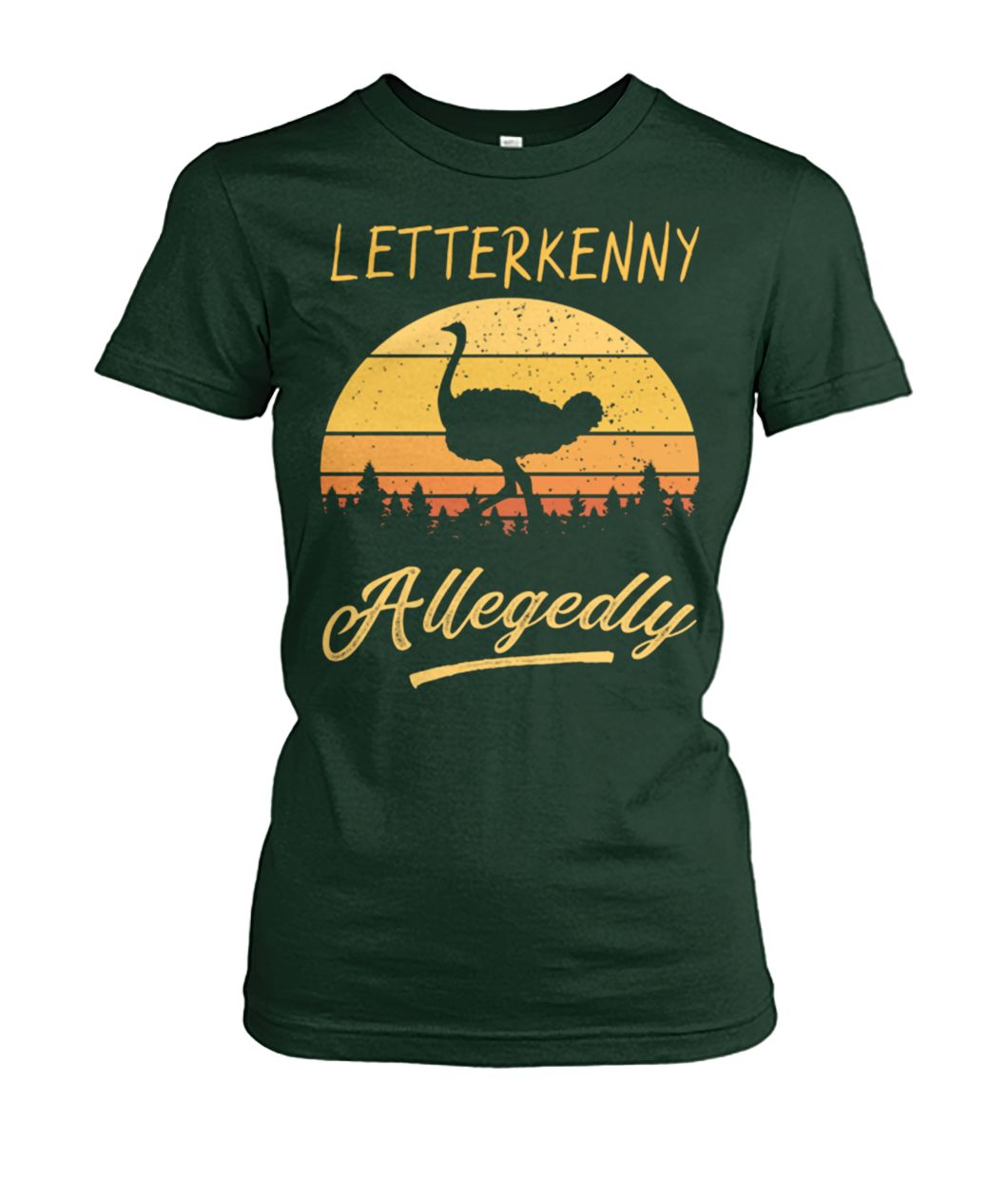 [Hot version] Letterkenny allegedly ostrich vintage shirt