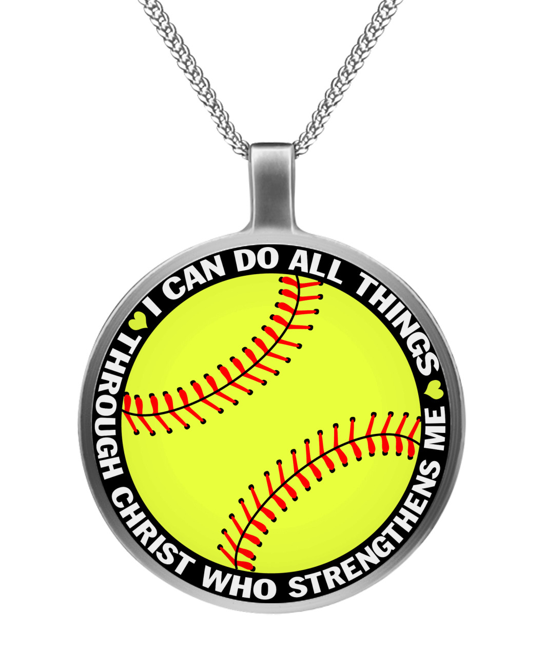 designmejewelry by necklace a baseball hand made custom softball to with personalized buy numbe