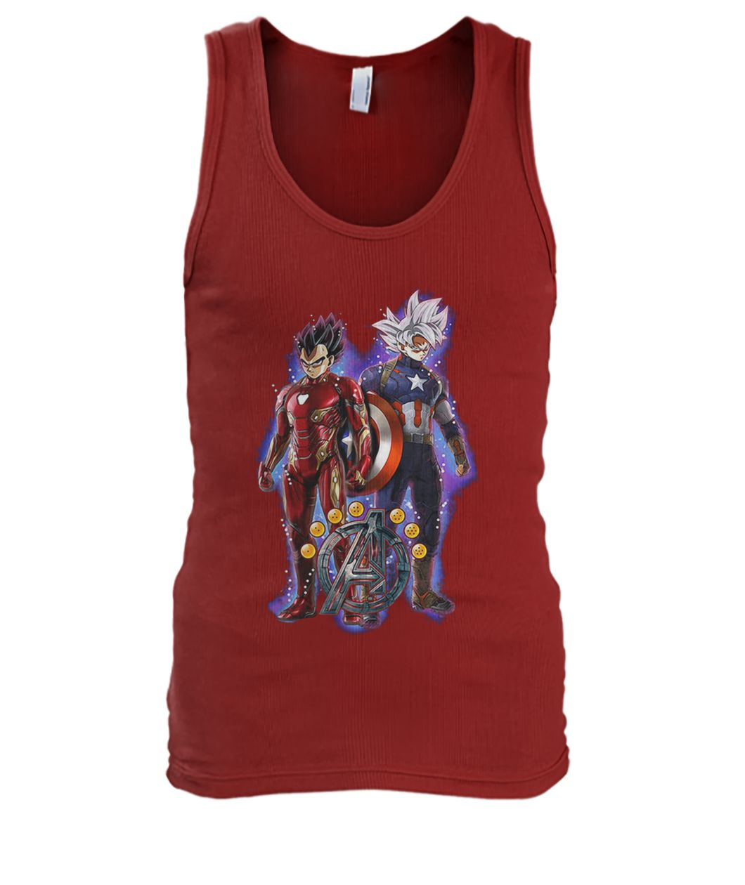 Songoku Vs Vegeta Dragon Ball Z Marvel Avengers Endgame Shirt