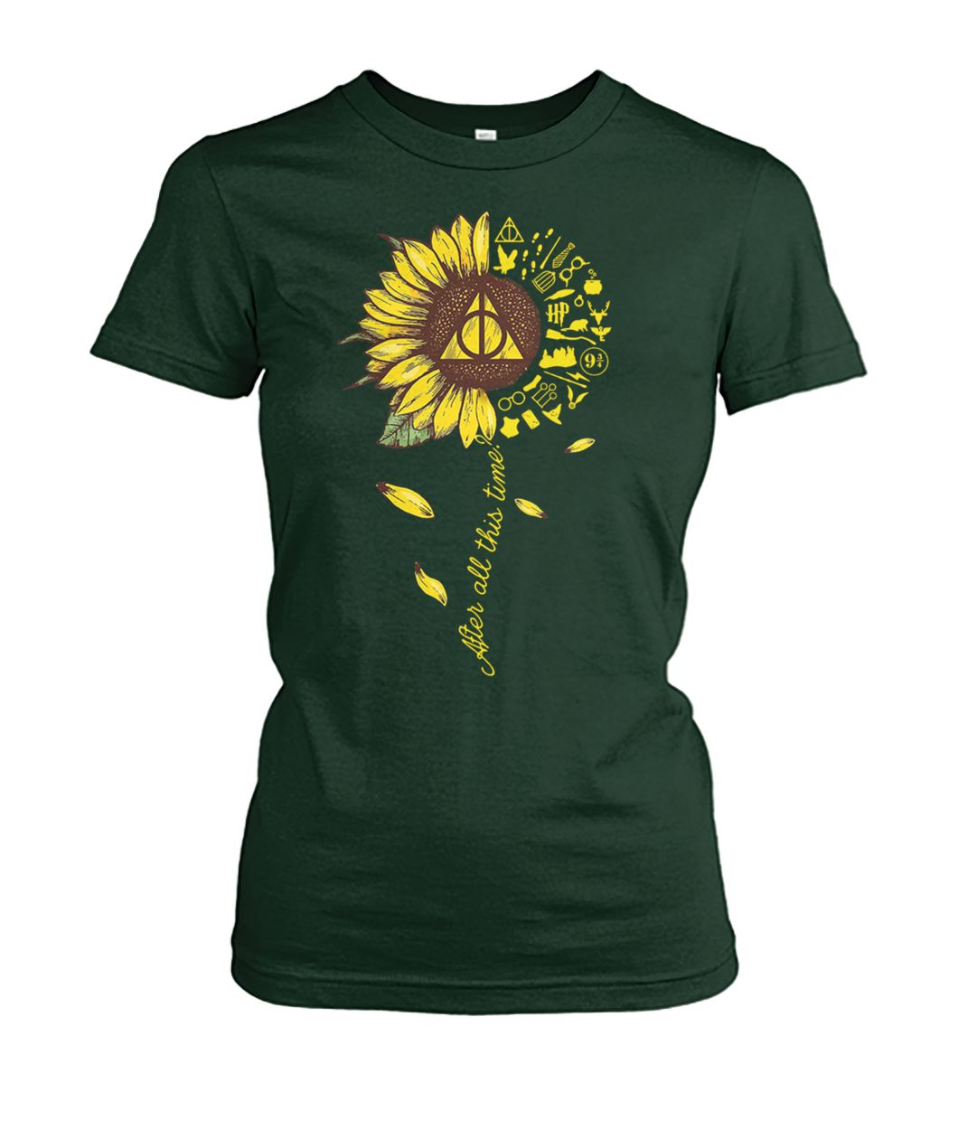 [Hot version] Harry potter after all this time sunflower shirt