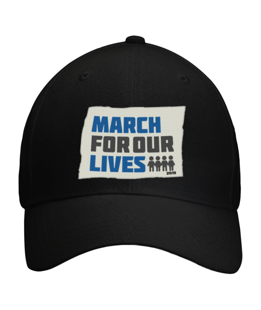 March For Our Lives Cap product design