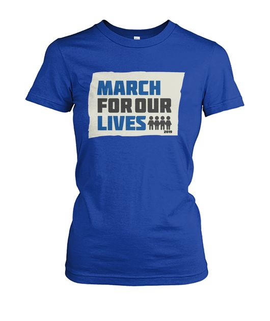 March For Our Lives Women T-Shirt product design