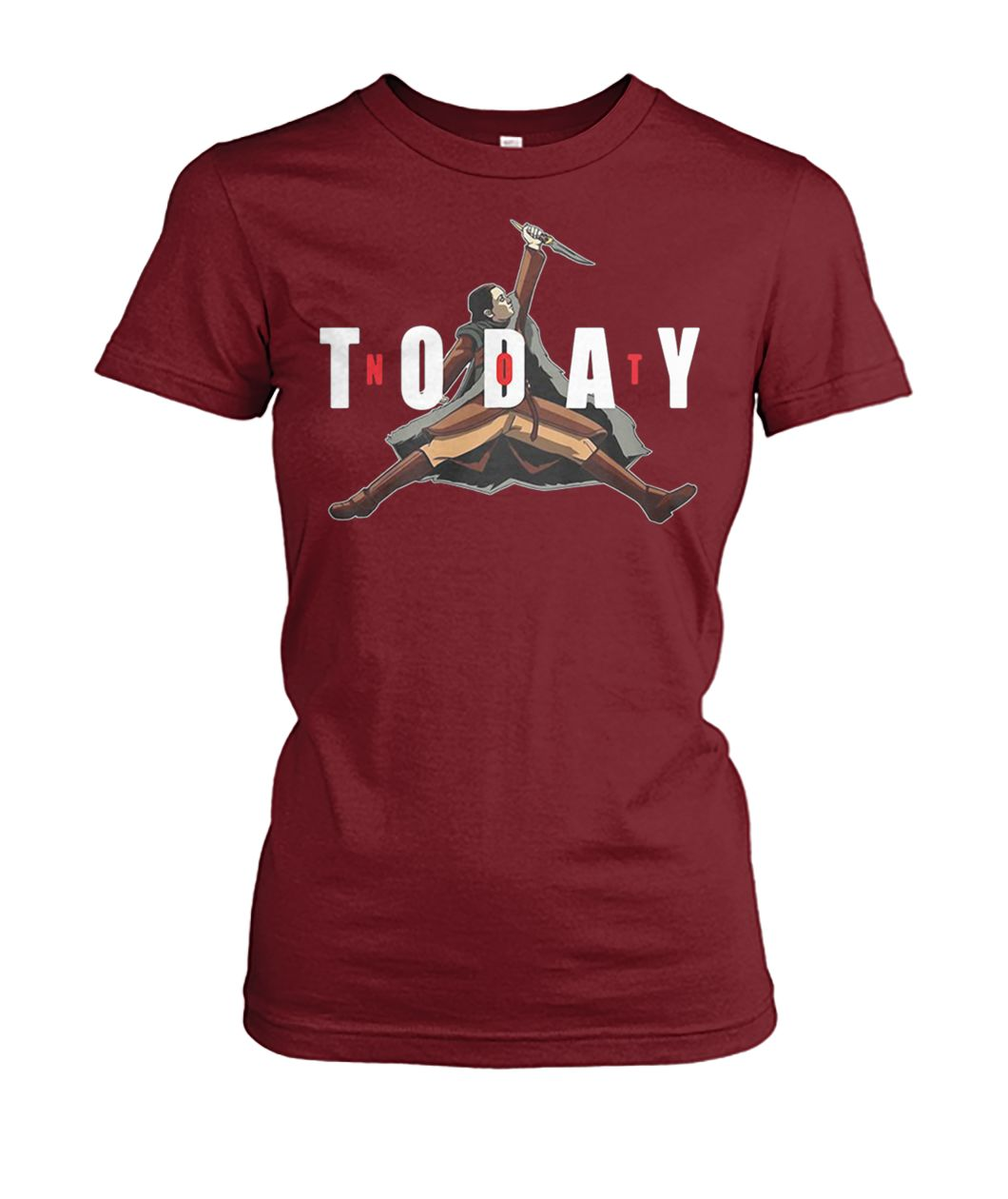 535a77dfec0e Where to purchase  GOT arya stark air jordan not today shirt. Or you can  get it in here  https   www.moteefe.com store got-arya-stark-air-jordan-not-today-  ...