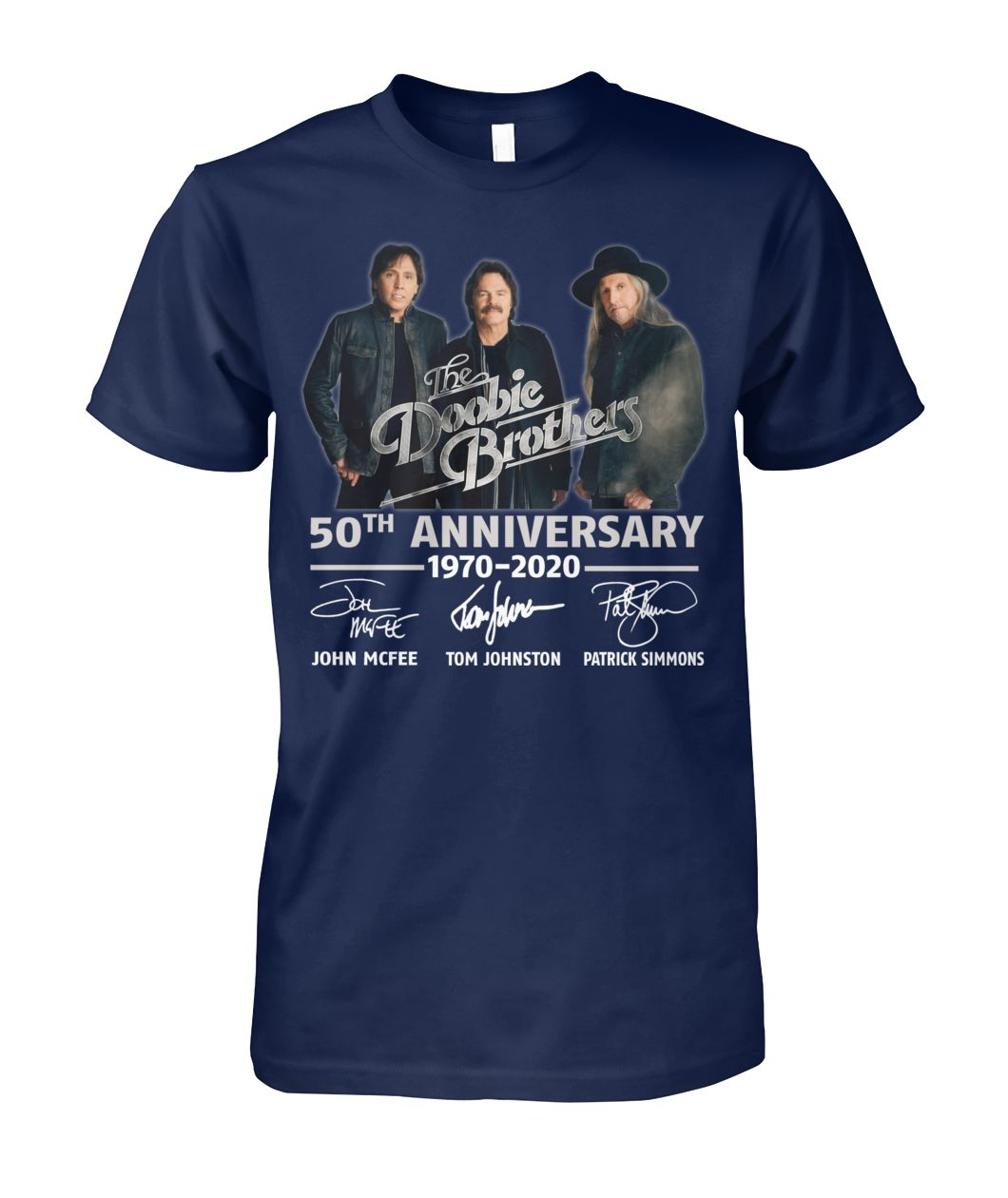 The Doobie Brothers 50th Anniversary Tour 2020 T-Shirt Size S-5XL Limited New