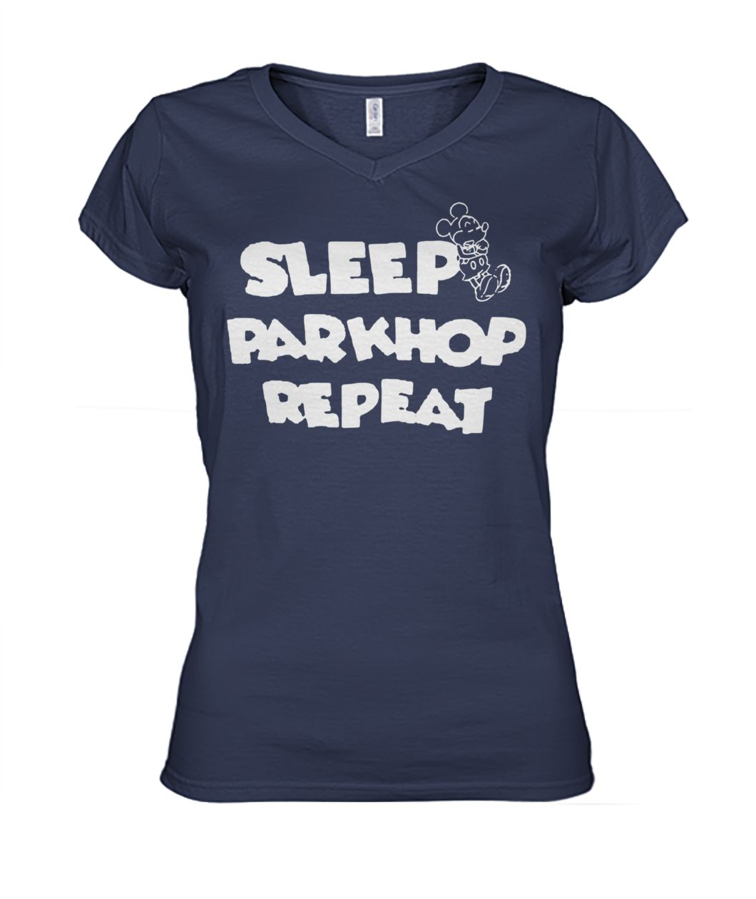 [Hot version] Mickey mouse sleep parkhop repeat shirt