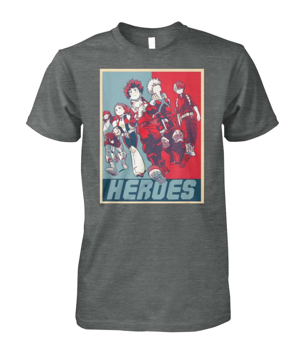 [Hot version] My hero academia the movie the two heroes shirt