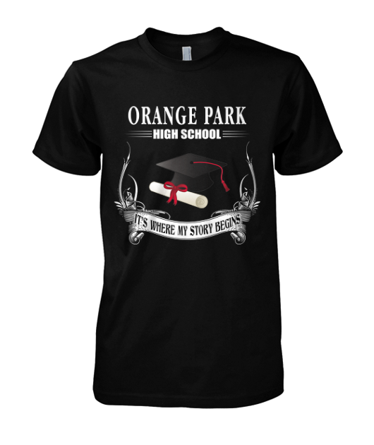 orange park hight school t-shirt