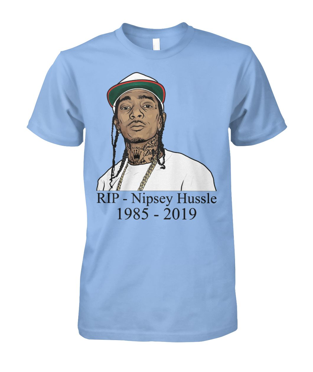 [Hot version] Rip Nipsey Hussle shirt