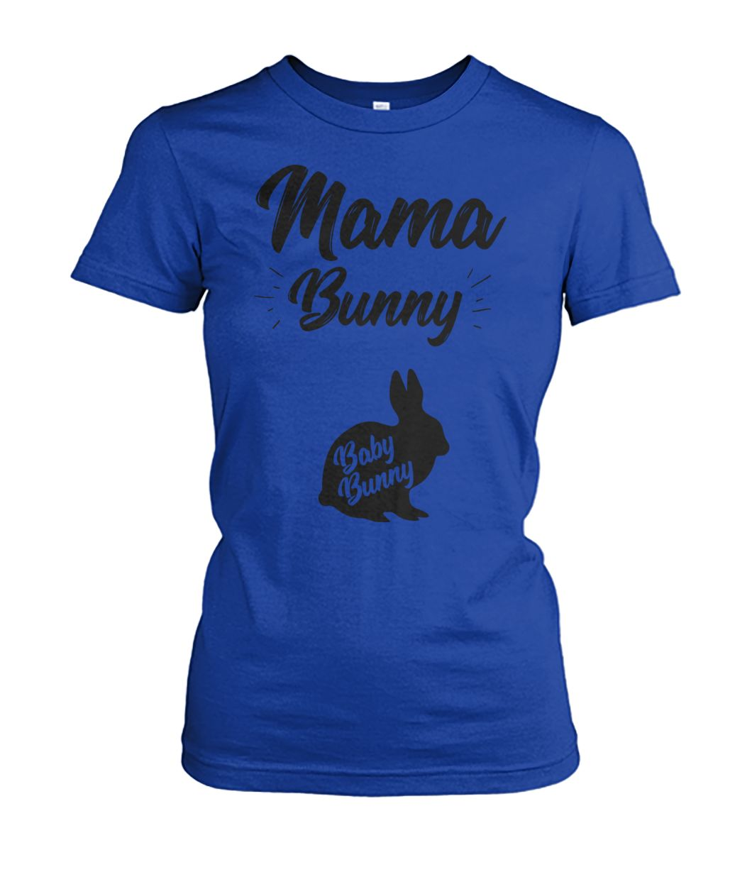 [Hot version] Mama bunny baby bunny easter pregnancy shirt