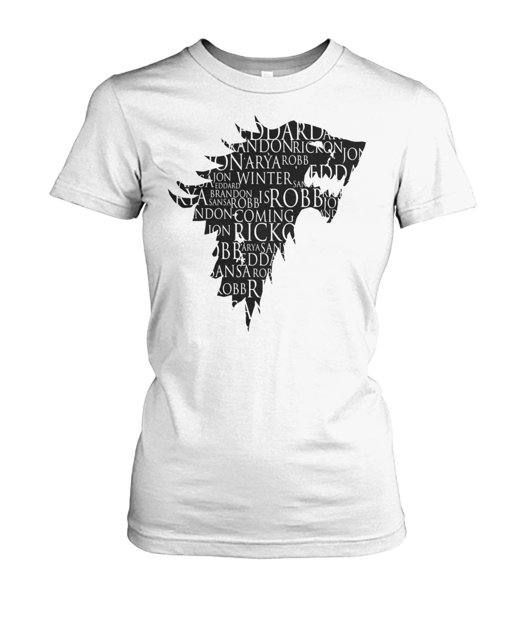 [Hot version] Direwolf best character names game of thrones shirt