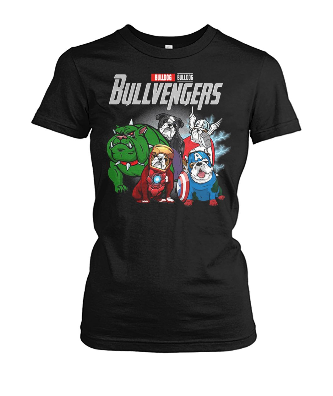 [Hot version] Marvel avengers endgame bullvengers bulldog shirt