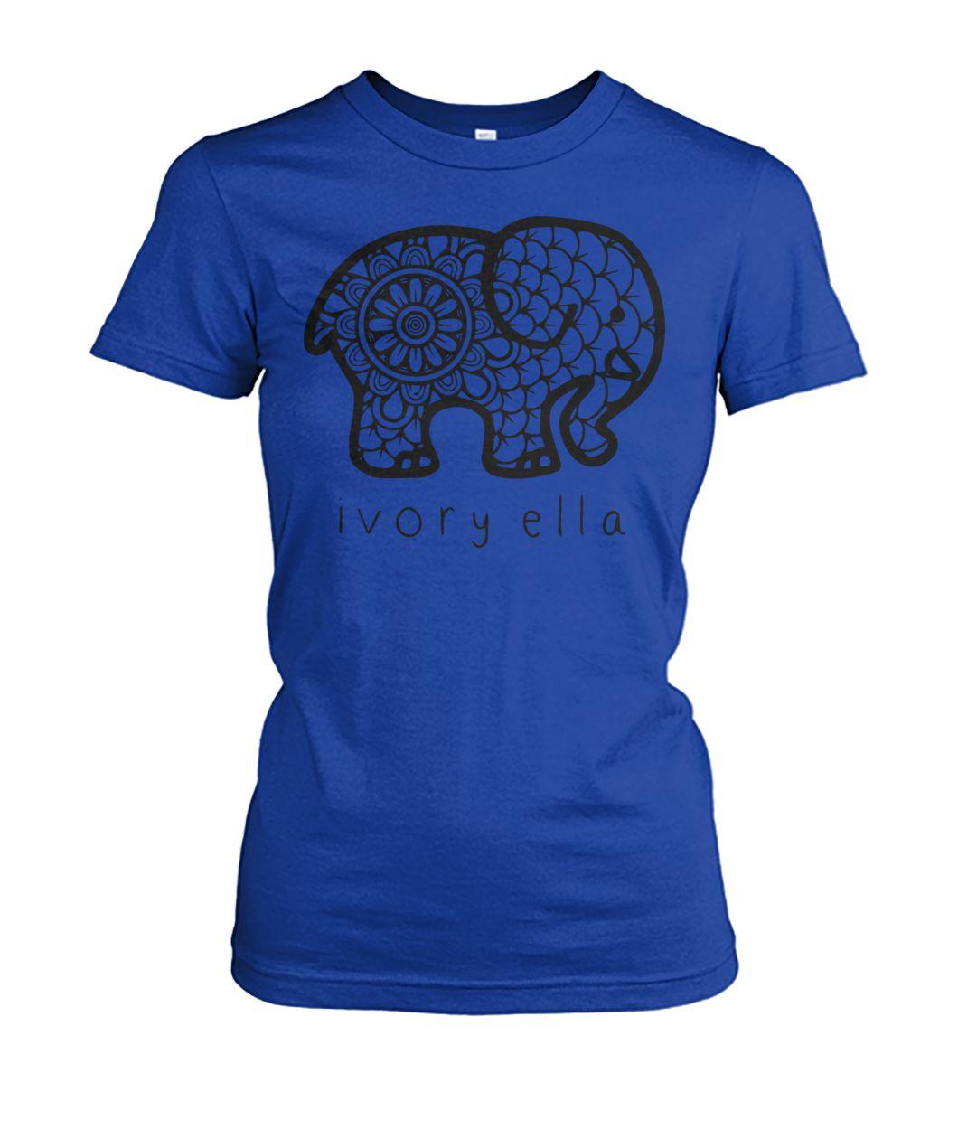 [Hot version] Ivory ella elephant shirt